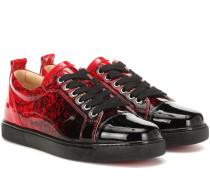 Sneakers Louis Junior aus Lackleder
