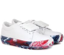 Sneakers Adriana Oil aus Leder