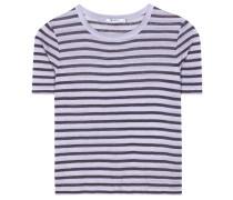 T-Shirt aus einem Leinengemisch