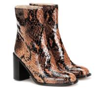 Ankle Boots Mars aus Leder
