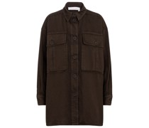 Oversize-Jacke aus Baumwolle