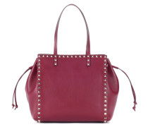 Garavani Rockstud leather shopper