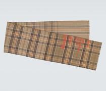 Karierter Schal Cassiar aus Wolle