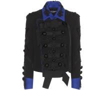 Verzierte Jacke aus einem Wollgemisch