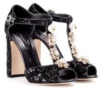 Sandaletten Keira 105 mit Pailletten