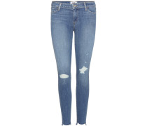 Jeans Verdugo Ankle Uneven Gia Destructed aus Stretchdenim