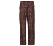 Pyjamahose aus Baumwoll-Seiden-Faille