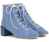 Ankle Boots Mable aus Denim