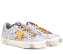 Sneakers May mit Pailletten