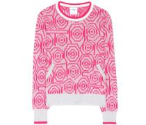 Jacquard-Pullover aus Cashmere