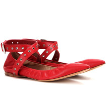 Garavani Ballerinas Love Latch aus Leder