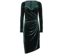 Asymmetrisches Kleid aus Samt
