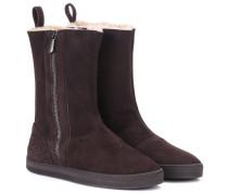 Lammfell-Boots Winter Lagoon