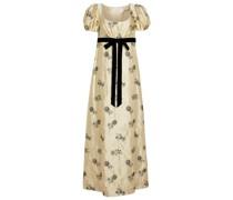 Verzierte Robe Leonore aus Satin