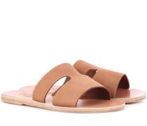 Sandalen Apteros aus Nubukleder