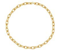 Vergoldete Halskette Roman Chain