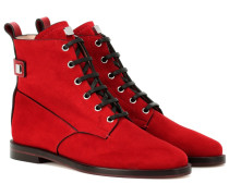 Ankle Boots Ryder aus Veloursleder