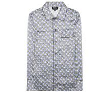 Pyjama-Bluse Glenn aus Twill