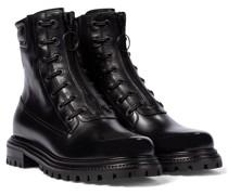 Ankle Boots Kicks aus Leder