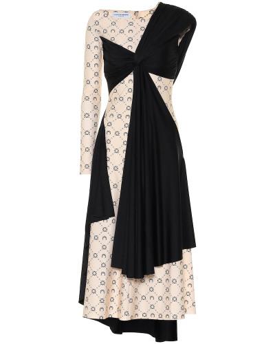Asymmetrisches Kleid aus Jersey