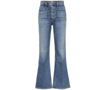 High-Rise Flared Jeans Maisie