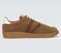 Sneakers Corda Folk aus Veloursleder