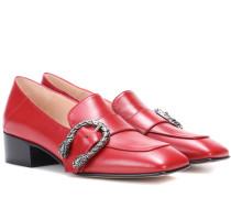 Loafers Dionysus aus Leder