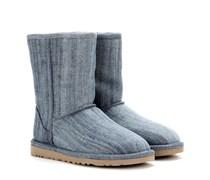 Boots Classic Short aus Denim