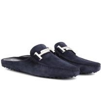 Exklusiv bei mytheresa.com – Slippers aus Veloursleder