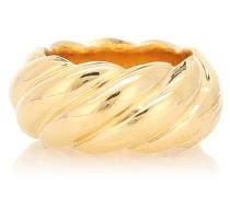 Vergoldeter Ring Large Rope