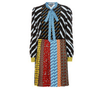 Kleid mit Plisseerock