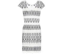 Kleid Yandel aus bestickter Baumwolle