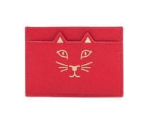 Kreditkartenetui Feline aus Leder