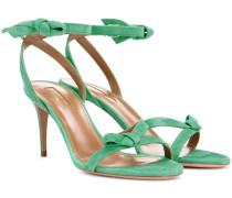 Sandaletten Passion 75 aus Veloursleder