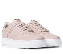 Sneakers Air Force 1 Pixel aus Leder