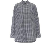Hemd Pinched Collar aus einem Baumwollgemisch