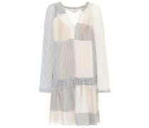 Kleid aus Baumwoll-Seiden-Gemisch