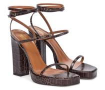 Sandalen Bianca aus Leder