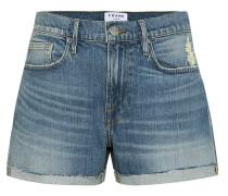 High-Rise Jeansshorts Le Brigette