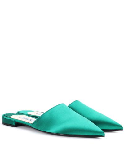 Slippers aus Satin