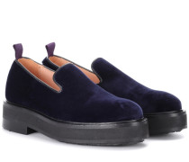 Loafers Palacio aus Samt