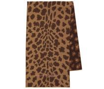 Bedruckter Schal aus Wolle