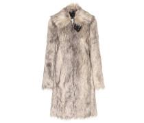 Mantel Wolf aus Faux Fur