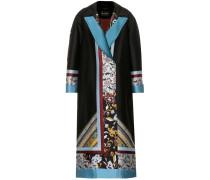Mantel aus Woll-Twill
