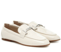 Loafers aus Lackleder