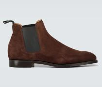 Boots Lawry aus Veloursleder