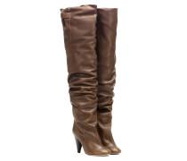 Overknee-Stiefel Likita aus Leder