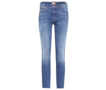 High-Rise Jeans Rascal Ankle Snippet aus Baumwolle