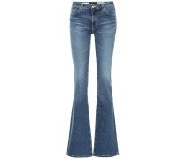 Mid-Rise Flared Jeans The Harper