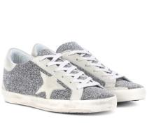 Sneakers Superstar mit Lederanteil